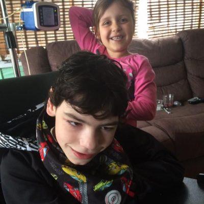 Justin et sa soeur